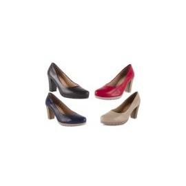 Zapatos Mujer Salones de Piel