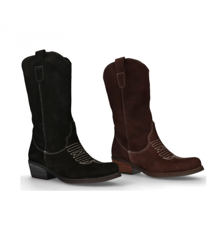 botas-mujer-piel-serraje