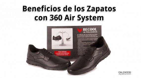 Benefits of Shoes with 360 Air System