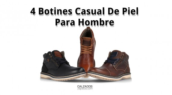 4 Casual Leather Ankle Boots For Men