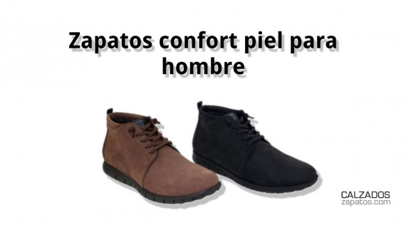 Comfort leather shoes for men