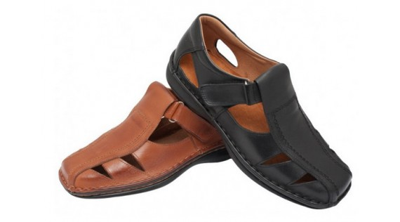 5 Very comfortable leather sandals for men