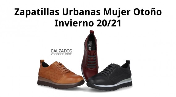 The most popular women's urban shoes this autumn-winter 20/21 season